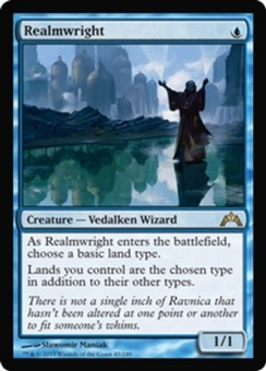 Magic the Gathering Gatecrash Single Realmwright - NEAR MINT (NM)