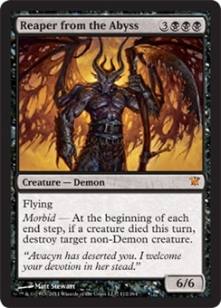 Magic the Gathering Innistrad Single Reaper from the Abyss - NEAR MINT (NM)