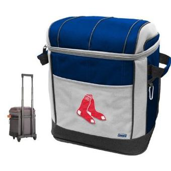 Boston Red Sox Coleman Rolling 50 Can Cooler - Regular Price $69.95 !!!