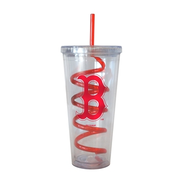 Boston Red Sox Tide 22 oz Double Insulated Swirl Tumbler