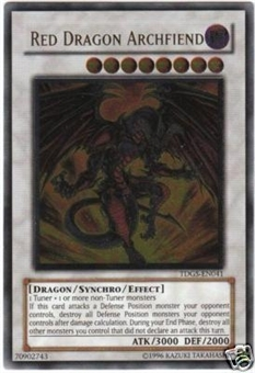 Yu-Gi-Oh Duelist Genesis Single Red Dragon Archfiend Ultimate Rare