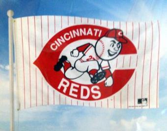 Cincinnati Reds Rico Industries 3' x 5' Retro Banner Flag
