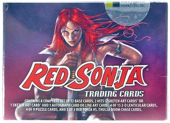 Red Sonja Trading Cards Box (Breygent 2012)