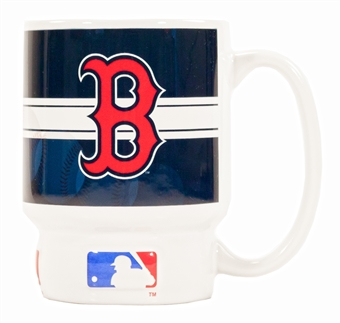 Boston Red Sox Home Run Sculpted Coffee Mug