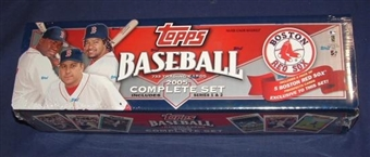 2005 Topps Factory Set Baseball (Box) (Boston Red Sox)
