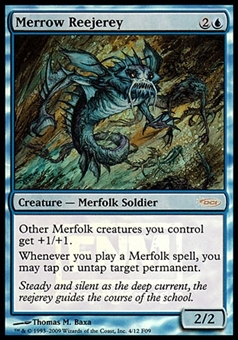 Magic the Gathering Promo Single Merrow Reejerey FNM FOIL - SLIGHT PLAY (SP)