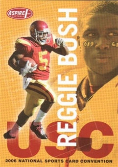 2006 Sage Aspire Reggie Bush Rookie National Exclusive - 100 Card Lot
