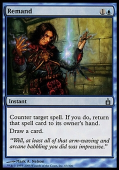 Magic the Gathering Ravnica: City of Guilds Single Remand FOIL - MODERATE PLAY (MP)