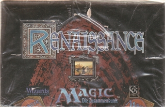 Magic the Gathering Renaissance Booster Box - German Edition
