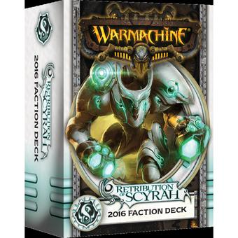 Warmachine: Retribution of Scyrah Faction Deck Box (MKIII) (Presell)