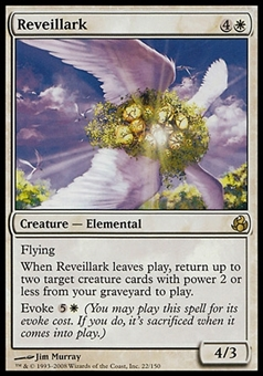 Magic the Gathering Morningtide Single Reveillark FOIL - SLIGHT PLAY (SP)
