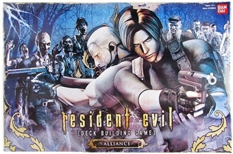 Resident Evil Alliances Deck Building Game by Bandai