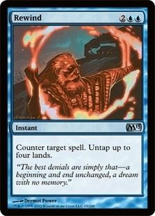 Magic the Gathering 2013 Single Rewind Foil