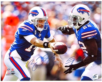 Ryan Fitzpatrick and Fred Jackson Autographed Buffalo Bills 16x20 Photo