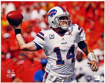 Ryan Fitzpatrick Autographed Buffalo Bills 16x20 Football Photo