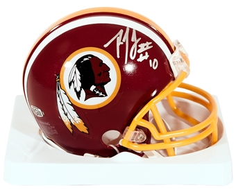 Robert Griffin III Autographed Washington Redskins Mini Helmet (RGIII Hologram)