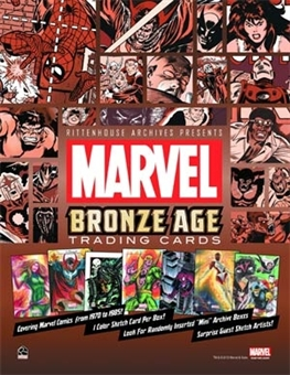 Marvel Bronze Age (1970-1985) Trading Cards Archives Box (Rittenhouse 2012)
