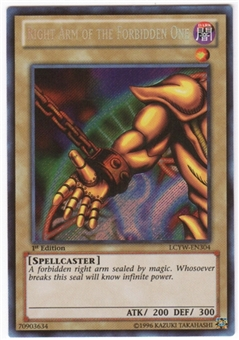 Yu-Gi-Oh Legendary Collection 3 Single Right Arm of the Forbidden One Secret Rare