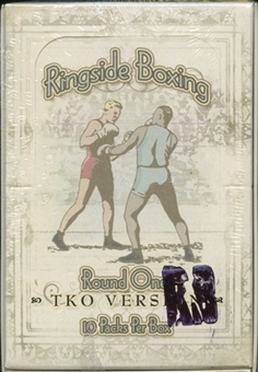 2010 Ringside Round One TKO Boxing Hobby Box