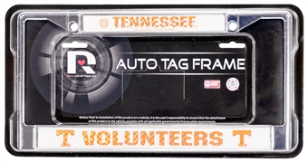 Rico Tag Tennessee Volunteers Domed Chrome License Plate Frame