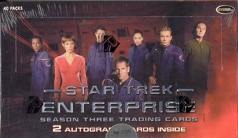 Star Trek Enterprise Season 3 Trading Cards Box (Rittenhouse 2004)
