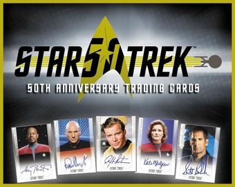 Star Trek 50th Anniversary Hobby Box (Rittenhouse 2017) (Presell)