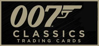 James Bond 007 Classics Trading Cards 12-Box Case (Rittenhouse 2016) (Presell)
