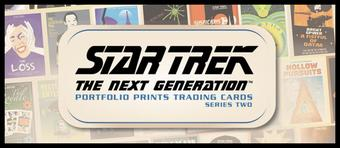 Star Trek: The Next Generation Portfolio Prints Series 2 12-Box Case (Rittenhouse 2016) (Presell)