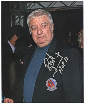 Rick Jeanneret Autographed Buffalo Sabres HOF 8x10 Hockey Photo with inscription