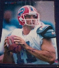 Rob Johnson Autographed Buffalo Bills 8x10 Football Photo
