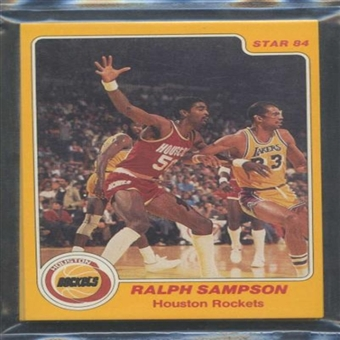 1983/84 Star Co. Basketball Rockets Bagged Set