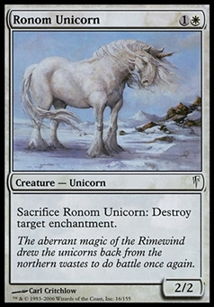 Magic the Gathering Coldsnap Single Ronom Unicorn FOIL - SLIGHT PLAY (SP)