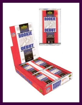 2005 Upper Deck Rookie Debut Football Hobby Box