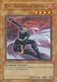 Yu-Gi-Oh Crossroads of Chaos Single Rose, Warrior of Revenge Ultra Rare