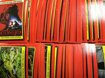 1983 Topps Star Wars Return of the Jedi Series 1 Complete Trading Card Set