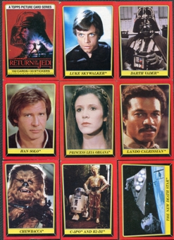 Star Wars Return Of The Jedi Series 1 132 Card Set (1983 Topps)