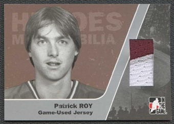 2006/07 ITG Heroes and Prospects Heroes Memorabilia #HM06 Patrick Roy /50