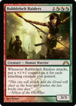 Magic the Gathering Gatecrash Single Rubblebelt Raiders UNPLAYED (NM/MT)