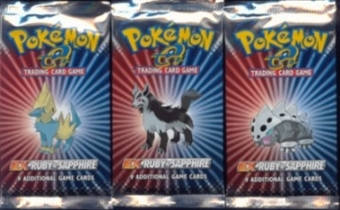 Pokemon Ruby & Sapphire Sealed Booster Pack
