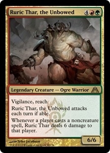 Magic the Gathering Dragon's Maze Single Ruric Thar, the Unbowed - NEAR MINT (NM)