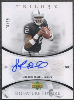 2007 Upper Deck Trilogy Signature Future Autographs #JR JaMarcus Russell 76/99