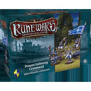 Runewars Miniatures Games: Daqan Infantry Command Expansion Pack (FFG)