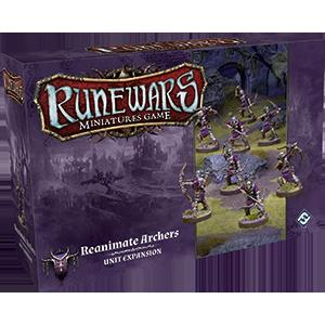 Runewars Miniatures Games: Reanimate Archers Expansion Pack (FFG)