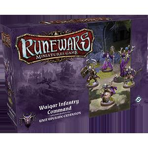 Runewars Miniatures Games: Waiqar Command Expansion Pack (FFG)