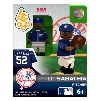 OYO New York Yankees CC Sabathia G2LE Series 3 Minifigure