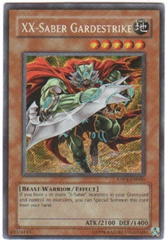 Yu-Gi-Oh Ancient Prophecy Single XX-Saber Gardestrike Secret Rare