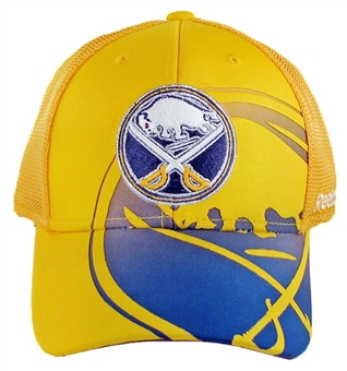 Buffalo Sabres Reebok Gold 2nd Season Flex Fit Hat (Adult S/M)