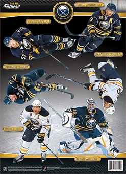 Fathead 2010-11 Buffalo Sabres Team Set 5x7 Stickers