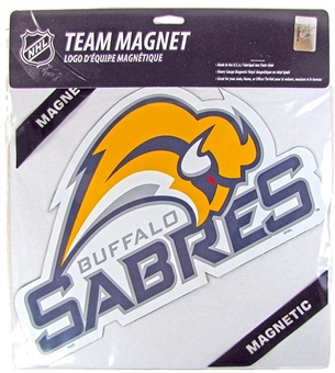 "Buffalo Sabres 12"" Die-Cut Magnet (Old logo) - Regular Price $4.95 !!!"