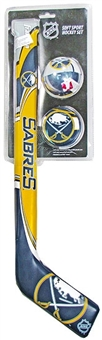 Franklin Sports Buffalo Sabres Soft Sport Hockey Set DO NOT USE OLD STYLE